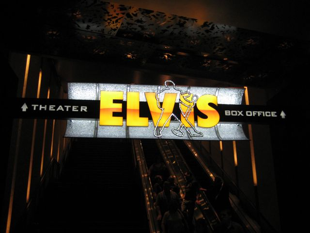 Viva Elvis show at Aria Hotel